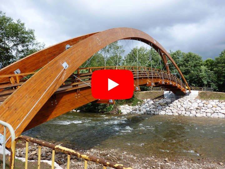 Vídeo instalación puente sobre el Río Segura en La Presa – Cieza
