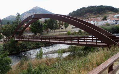Puente 37,2 m x 2 m en Cervera de Pisuerga, Palencia (3003)