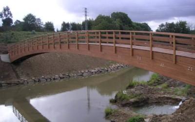 2303 – Puente de 35,00 x 2,00 m sobre el Río Mero