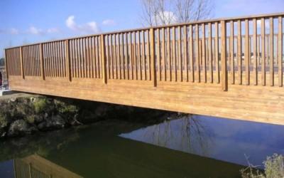 2334 – Puente 17,50 x 5,00 m en Pinar de Jalón