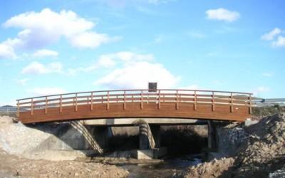 2343 – Puente 18,00 x 2,00 m en Embalse Pareja
