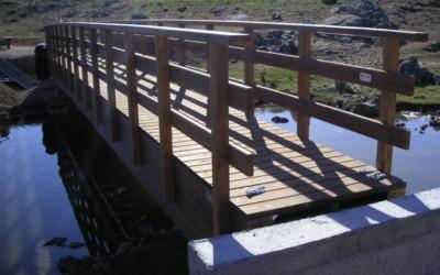 2367 – Puente de 10,00 y 15,00 x 1,35 m en Ahillones, Badajoz