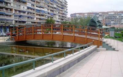 2674 – Puente 11,60 x 2,50 m en Alcorcón