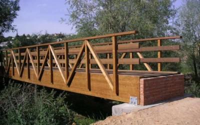 2834 – Puentes de 14,00 y 18,00 m x 1,50 m en Torrejón del Rey