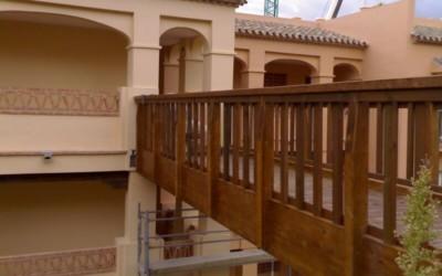 3105 – Puentes de 11,50 10,70 y 7,10 x 2,00 m en Benalmádena