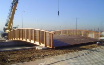 3161 – Puente de 13,00 x 10,00 m en el Parque Tecnológico de Leganés