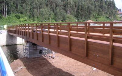 3281 – Puente de 43,60 x 2,00 m en la Playa de la Griega