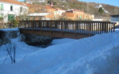 3295 – Puente 12,00 x 1,50 m en Espinosa de la Ribera