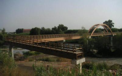 3388 – Puente de 114,00 x 2,00 m en Cami del Riu Segre