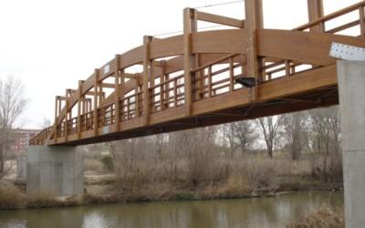Puente 54,00 x 3,00 m río Gallego (3392)
