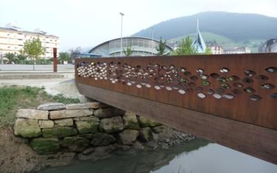 3515 – Puente de 14,00 x 2,00 m ESCULTURA en Vegadeo