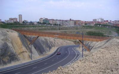 Puente 43 m x 2 m en Portugalete, Vizcaya (3530)