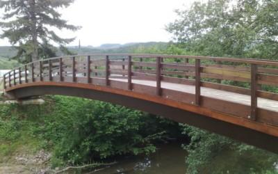 3701 – Puentes 25,00 18,00 17,00 y 7,00 x 3,00 m en el Río Linares