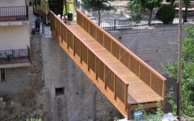 3935 – Puente de 16,00 x 2,00 m en Molinicos
