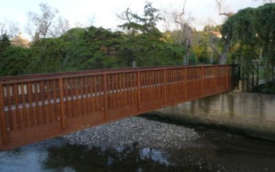 3996 – Puente de 15,00 x 3,00 m Caxias en Oeiras