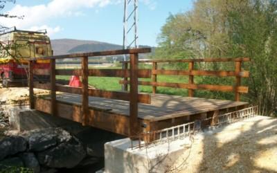 5101 – Puente 5,00 x 3,50 metros en Legutiano Eskoriatza