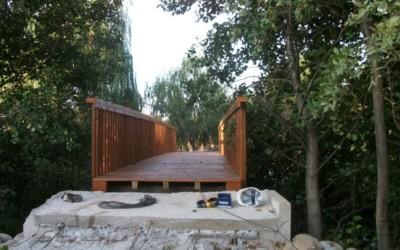 5193 – Puente de 13,00 x 2,00 metros en Abadía