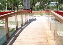 Puente de cristal en Málaga