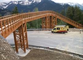 Media Madera termina el puente del «Vallnord Bike Park»