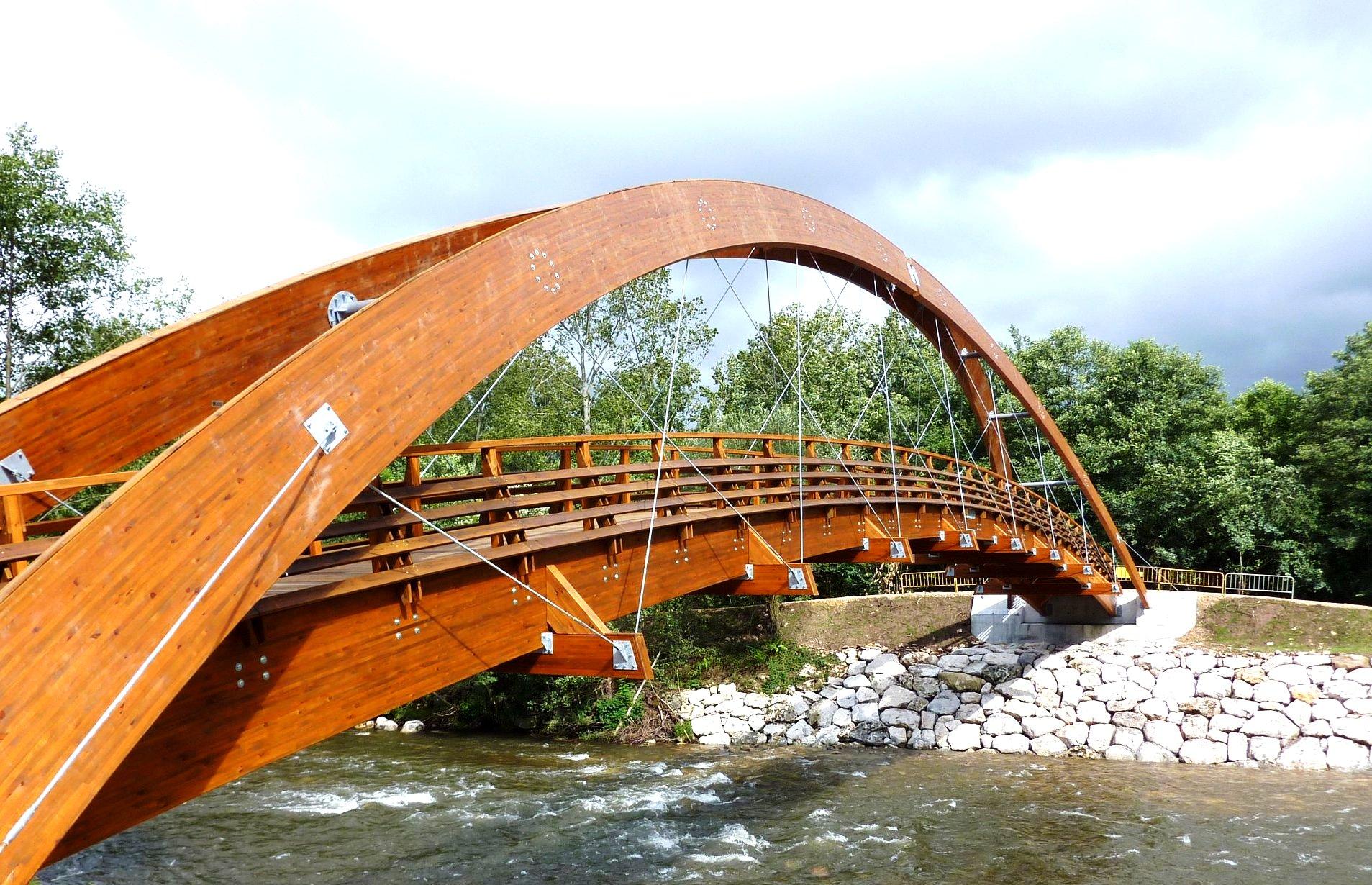 Puente 50m x 2,5m Rio Saja (Cabezon de la Sal - Mazcuerras)