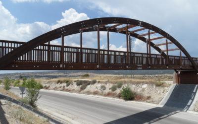Puente de 30 m x 2,8 m sobre M-618 en Colmenar Viejo, Madrid (5069)