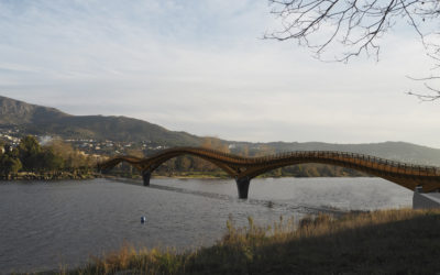 Concurso Internacional Puente río Miño, entre Vila Nova de Cerveira y Tomiño (5341)