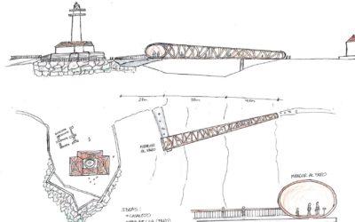 Diseños Puente Peatonal en Torrox, Málaga (5137)