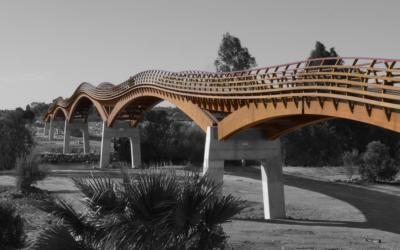 Puente de 273 m sobre el río Guadalhorce, Málaga (5082)