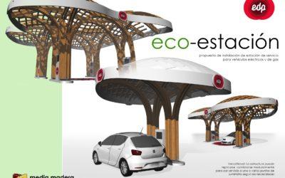Eco-estación de servicio en Gijón, Asturias (5233)
