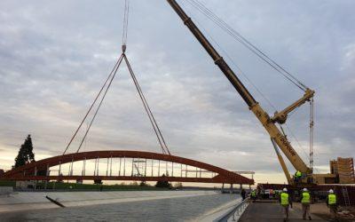 Puente de 48 m x 3 m en Aube, Francia (5161)