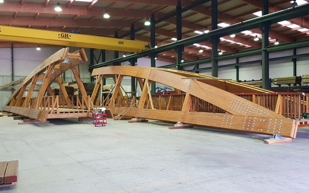 Fabricación del Puente de Peñafiel, en Valladolid