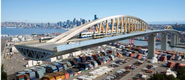 La madera estructural como alternativa para sustituir el Puente de carretera de West Seattle