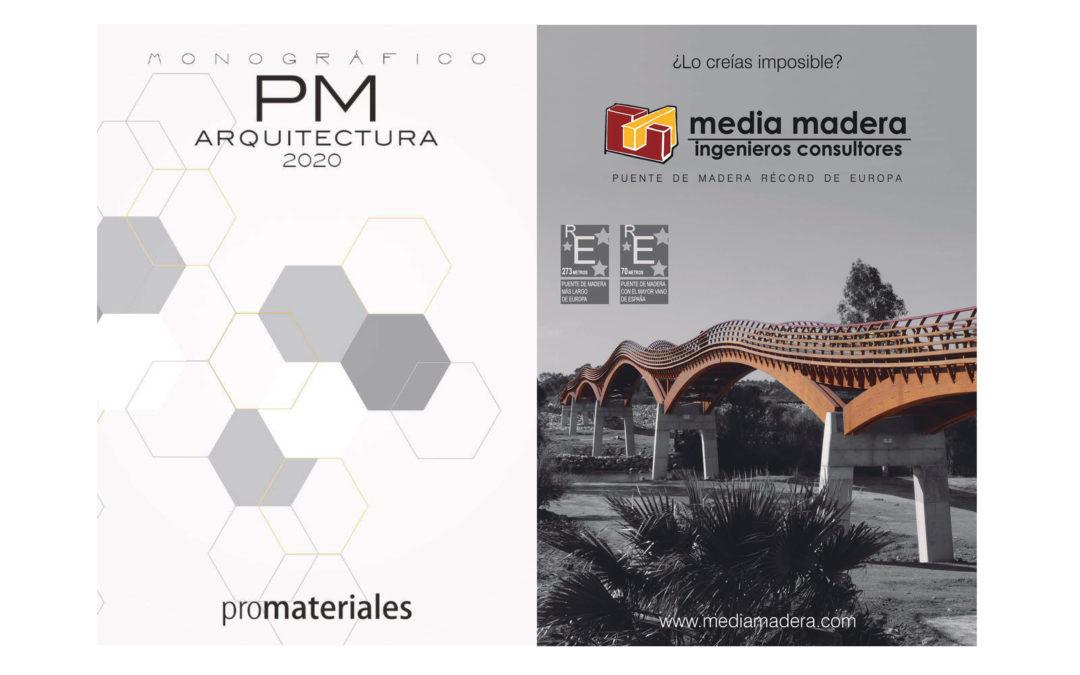 Aparición en el «Monográfico de Arquitectura 2020» de la revista Promateriales