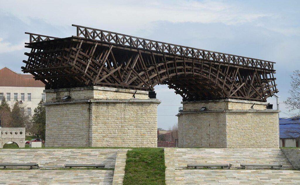 El Puente de Trajano, «¡Están locos estos romanos!»