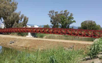 Puente de 64 m sobre el Río Gudalmansa, en Estepona, Málaga (5782)